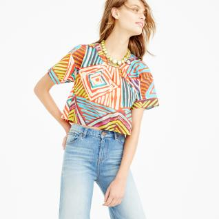 jcrew crop top